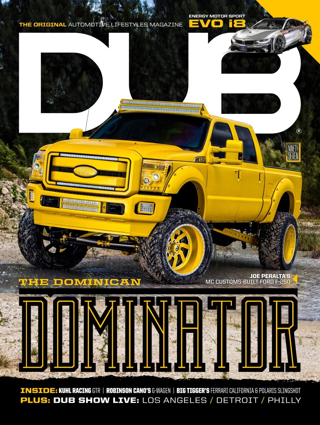 DUB Magazine Issue 97 Cover